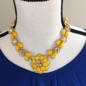 kate spade Jewelry - Kate Spade Flower Statement Necklace.